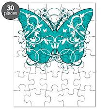 Tourettes-Syndrome-Butterfly-blk Puzzle