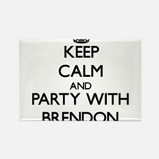 Keep Calm and Party with Brendon Magnets
