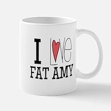 I Love Fat Amy Mugs