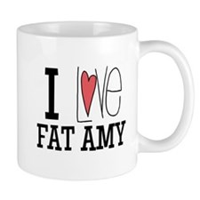 I Love Fat Amy Mugs