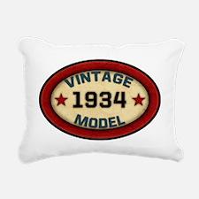 vintage-model-1934 Rectangular Canvas Pillow