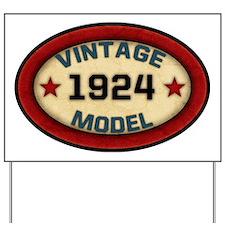 vintage-model-1924 Yard Sign