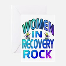 WOMEN ROCK.gif Greeting Card