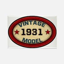 vintage-model-1931 Rectangle Magnet