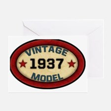 vintage-model-1937 Greeting Card