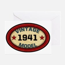 vintage-model-1941 Greeting Card