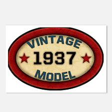 vintage-model-1937 Postcards (Package of 8)