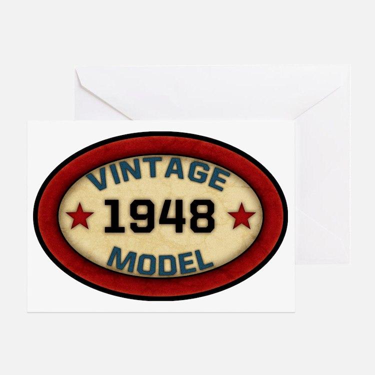 1948 Birthday Greeting Cards