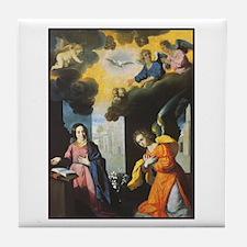 Virgin Mary - The Annunciatio Tile Coaster