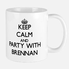Keep Calm and Party with Brennan Mugs