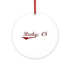 Rudy '08 Ornament (Round)