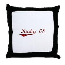 Rudy '08 Throw Pillow