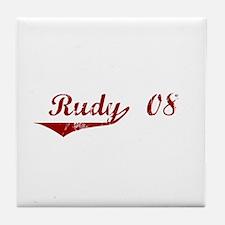 Rudy '08 Tile Coaster
