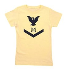 USCG-Rank-BM3-Crow-Subdued-Blue-PNG Girl's Tee