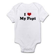 I Love My Papi Infant Bodysuit