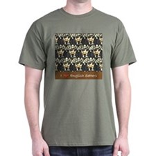 I Love English Setters T-Shirt