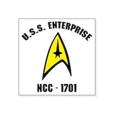 "ncc17011 Square Sticker 3"" x 3"""