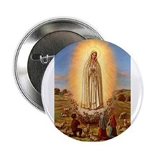Virgin Mary - Fatima Button