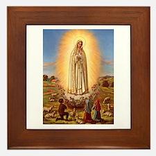 Virgin Mary - Fatima Framed Tile