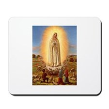 Virgin Mary - Fatima Mousepad