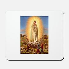 Virgin Mary - Fatima Mousepad