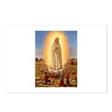 Virgin Mary - Fatima Postcards (Package of 8)