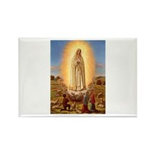 Virgin Mary - Fatima Rectangle Magnet