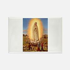 Virgin Mary - Fatima Rectangle Magnet