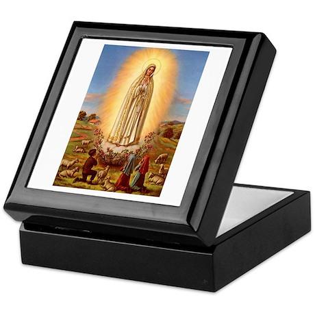Virgin Mary - Fatima Keepsake Box