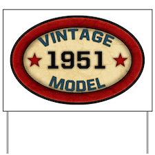 vintage-model-1951 Yard Sign