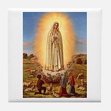 Virgin Mary - Fatima Tile Coaster