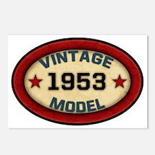 vintage-model-1953 Postcards (Package of 8)