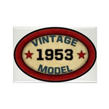 vintage-model-1953 Rectangle Magnet