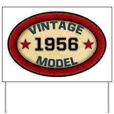 vintage-model-1956 Yard Sign
