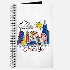 Chicago Cute Kids Skyline Journal