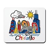 Chicago Mouse Pads