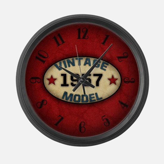 vintage-model-1957_b_clock Large Wall Clock