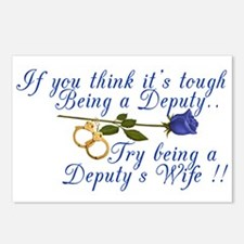 Tough Deputy Postcards (Package of 8)