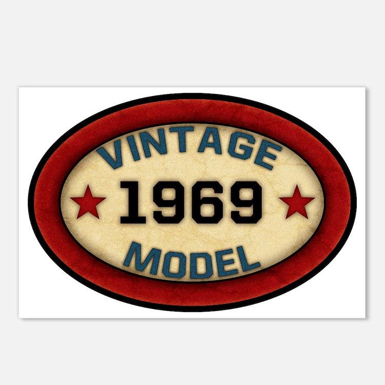 vintage-model-1969 Postcards (Package of 8)