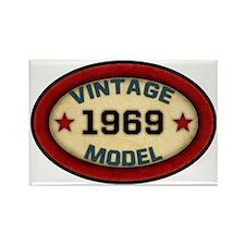 vintage-model-1969 Rectangle Magnet