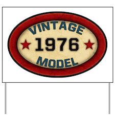 vintage-model-1976 Yard Sign