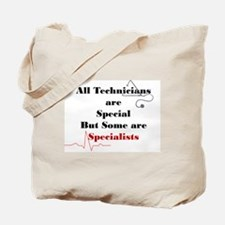 technician specialists Tote Bag
