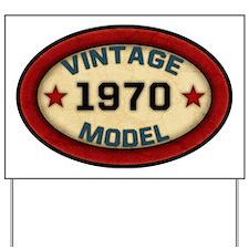 vintage-model-1970 Yard Sign