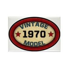 vintage-model-1970 Rectangle Magnet