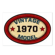 vintage-model-1970 Postcards (Package of 8)