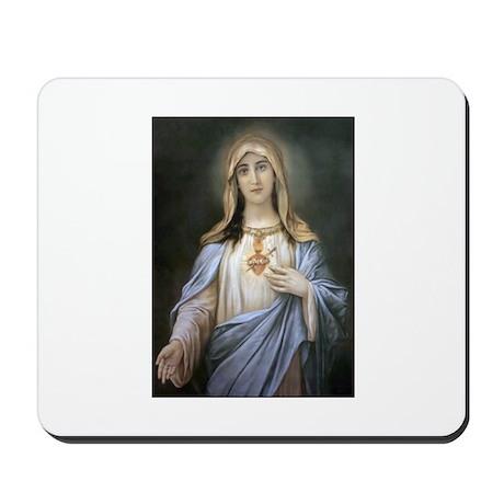Holy Heart of Mary Mousepad