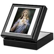 Holy Heart of Mary Keepsake Box