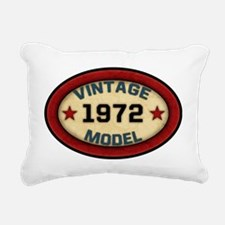 vintage-model-1972 Rectangular Canvas Pillow