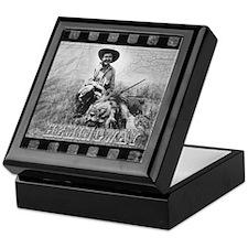 Ernest Hemingway and Lion Keepsake Box