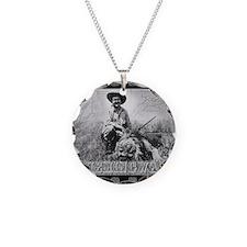 Ernest Hemingway and Lion Necklace